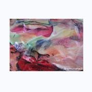 art textile mode personnages foulard carre soie echarpe : Carré ou Foulard