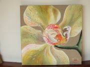 tableau fleurs orchidee : Orchidée