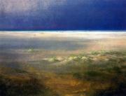 tableau paysages plage mer du nord apresmidi : PLage du Nord