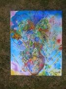 tableau abstrait nature vivante anda peinture : Cocktail