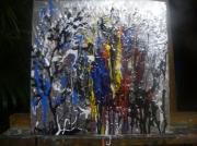 tableau abstrait : Energie