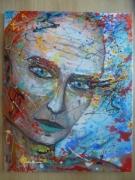 tableau personnages portrait peinture esprit libre anda : Alien