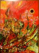 tableau autres anda eclipse peinture : Eclipse