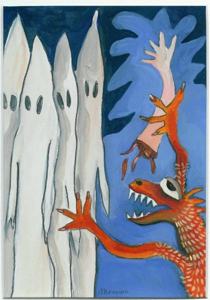 TABLEAU PEINTURE Bestiare Animaux couleur dragon Animaux Peinture a l'huile  - Balneari de Brisques