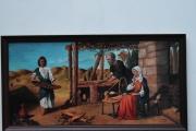 tableau personnages tableau peinture jes saint marie et saint peinture ,a l hu joky kamo : tableau peinture jesus