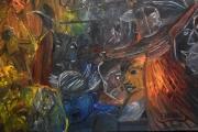 tableau abstrait tableau peinture abs tableau ,a l huile joky kamo : tableau peinture abstrait