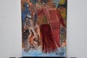 tableau abstrait peinture abstrait tableau ,a l huile joky kamo : tableau peinture abstrait