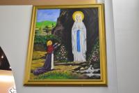 peinture tableau Notre Dame de Lourdes