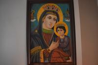 tableau peinture la saint vierge