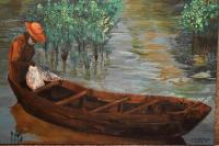 peinture de barque pêcheur
