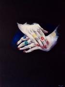 tableau gestuelle clarte madame bijoux : Aux doigts d'Or