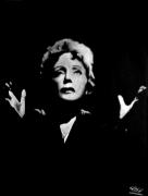tableau personnages edith piaf tableau deco chanteuse design : tableau-pastel-moderne-design-portrait-Edith Piaf