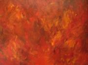 tableau abstrait : Automne 1