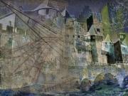 art numerique architecture carcassonne remparts : Carcassonne