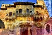 art numerique architecture rajastan haveli mandawa inde : Havéli