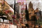 art numerique architecture gerone espagne catalogne : Gerone- Eglise