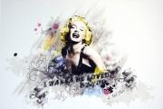 art numerique personnages marilyn blanc tobal graphisme : Marilyn Blanc