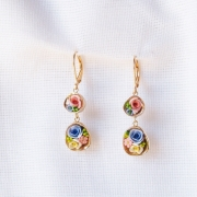 bijoux fleurs boucles d oreil : 1