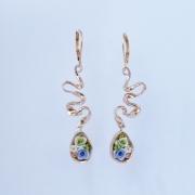 bijoux fleurs boucles d oreil : 3
