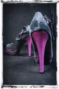 art numerique autres chaussure talon gris scene : Chaussure 5