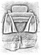 art numerique autres chaussure dessin gris crayon : Chaussure 6