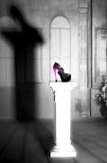 art numerique autres chaussure talon ombre lumiere : Chaussure 7