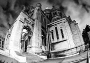 photo architecture paris montmartre sacre coeur : Montmartre 1