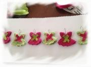 art textile mode miniature crochet porte dragees : robe miniature