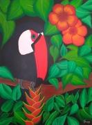 tableau animaux toucan : VENDU