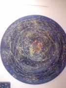 tableau abstrait ,a r ,c o : Spirales infinies
