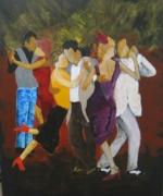 tableau personnages danse danseur tango : tango n+2