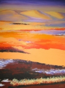 tableau paysages paysage desert impression : les dunes