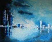 tableau villes ville metropole : ville bleu