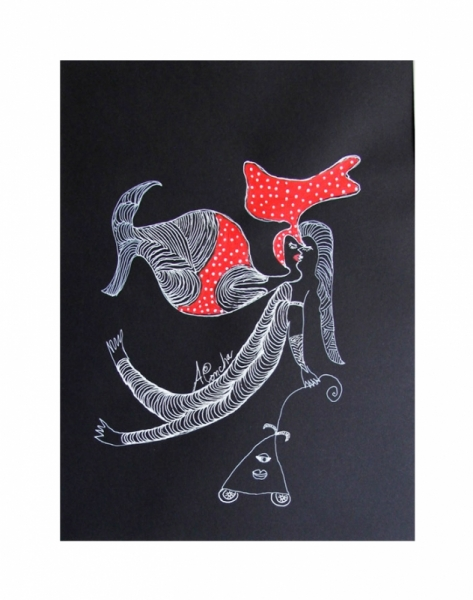 DESSIN Aconcha Dessin Cuba Artiste Personnages  - Piropero