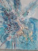 tableau abstrait : opulences