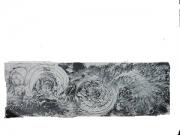 tableau abstrait japon tsunami : cosmic tsunami