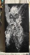 tableau animaux : Le toutou à sa mémère