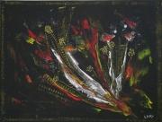 """tableau fleurs lany fleur contemporain moderne : """"Colesia"""""""