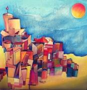 tableau architecture abstraits comptemporains urbanisme : URBANISME