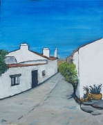 tableau paysages village portugal monsaraz ciel bleu : Monsaraz 1