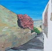 tableau paysages bougainvilliers village portugal monsaraz : Monsaraz2