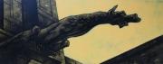 tableau architecture gargouille gothique : un ange passe 8