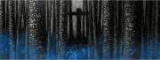 tableau paysages foret arbre croix : rendez-vous
