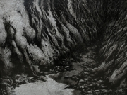 tableau paysages source roche nature pierre : source