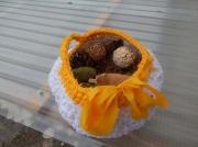 art textile mode fleurs bonheur senteur soleil zen : PANIER GARNI