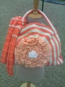 art textile mode paysages hiver froid douceur chaleur : SAC A MAIN