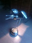 deco design animaux goeland luminaire metal surcyclage : JONATHAN