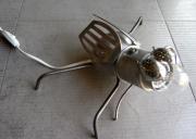 deco design animaux lampe insecte metal luminaire : tsé tsé