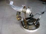 deco design sport avion lampe metal : vole raoul