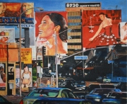 tableau villes los angeles california wilshire boulevard advertising : Sunset Boulevard, Los Angeles